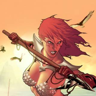 Red Sonja #35 Cover