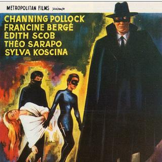 Judex movie poster 1963