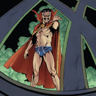 Oberoth'm'gozz as Dr. Strange - Thunderbolts Annual #1