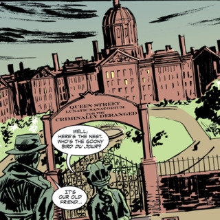 Queen Street Lunatic Sanatorium for the Criminally Deranged