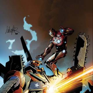 Invincible Iron Man #32