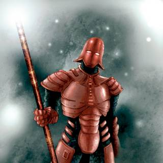 Brontes in full armor