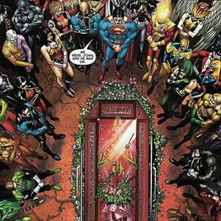 Martian Manhunter funeral