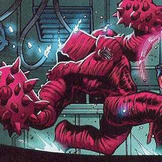 Gammadroid vs Red She-Hulk - World War Hulks #1
