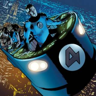 Fantasti-Car - Fantastic Four #561
