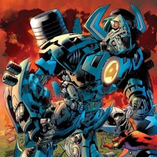 Anti-Galactus Suit - Fantastic Four #557