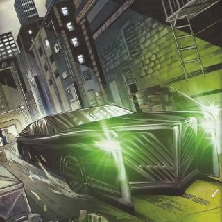 Black Beauty - Green Hornet #17