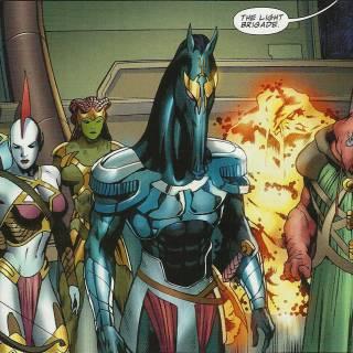 The Light Brigade - Fantastic Four #578