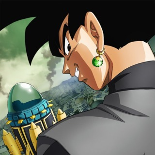 Black Goku - Promo Art