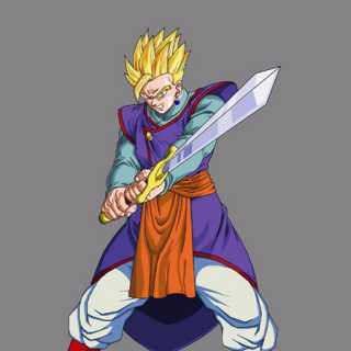 Gohan & Z-Sword