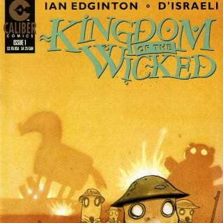 Kingdom of The Wicked #1 Cover