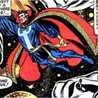 Kathulos absorbing Doctor Strange