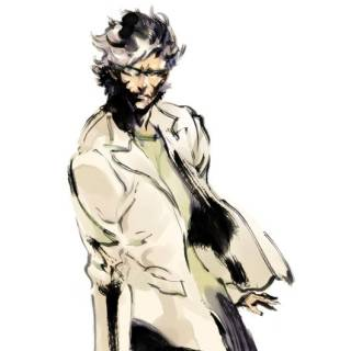 Metal Gear Solid 2 Art