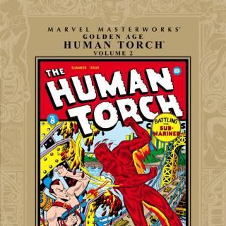Marvel Masterworks: Golden Age Human Torch #2