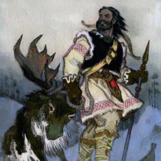 Hunting the Elk of Hiisi