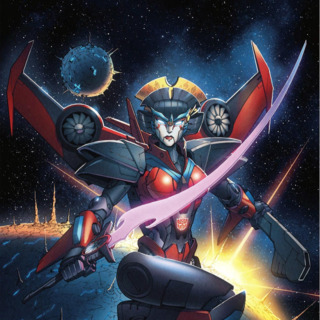 The Transformers: Windblade #1 cover.