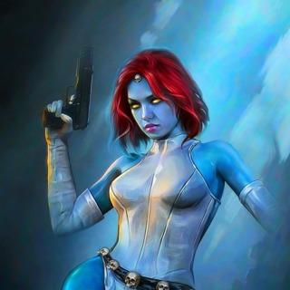 Mystique by Shannon Maer (X-Men #4 Variant)