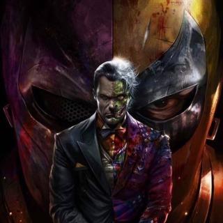 Two-Face by Francesco Mattina (Deathstroke #37 Variant)