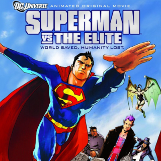 Superman Vs The Elite Cover, Cropped