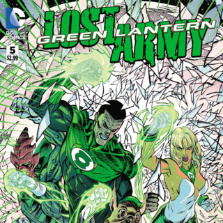 Green Lantern The Lost Army #5 Review