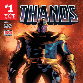 Thanos #1 Review