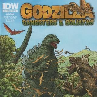 Godzilla Gangsters & Goliaths #1