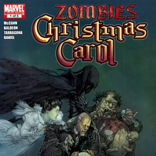 Marvel Zombies Christmas Carol #1