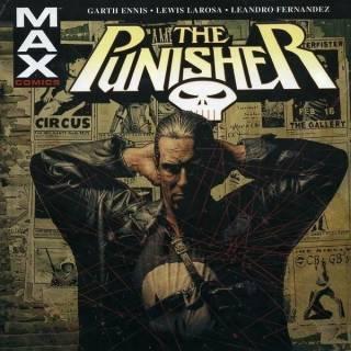 Punisher Max HC V1 Cover