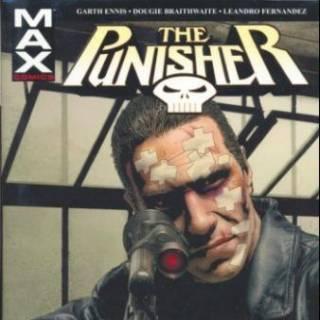 Punisher Max HC V2 Cover