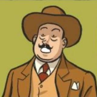 Comic strip Poirot