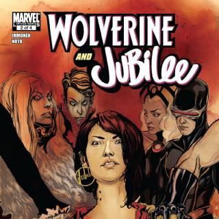 Wolverine & Jubilee #2 cover