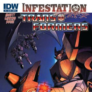 Transformers: Infestation #2 cover