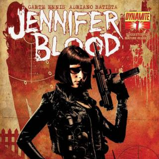 Jennifer Blood #1 Variant