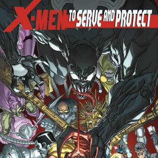 X-Men To Serve And Protect #4 cover