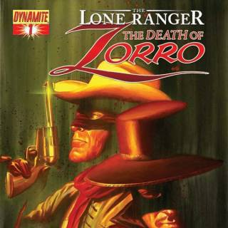 The Lone Ranger: The Death of Zorro #1 cover