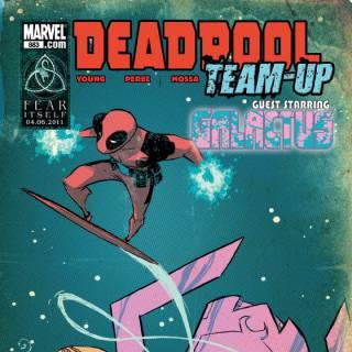 Deadpool Team-up #883 cover