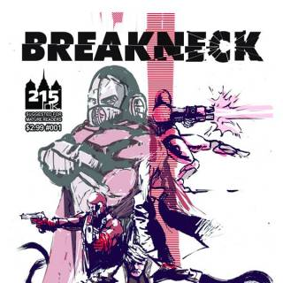 Breakneck #1 cover